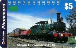 AUSTRALIA $5 TRAIN TRAINS 1210 CLASS LOCOMOTIVE AUS-125 MINT SPECIAL PRICE !! READ DESCRIPTION !! - Australia