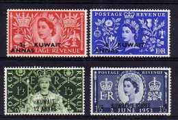Kuwait - 1953 - QEII Coronation - MH - Koweït