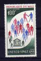 Mali - 1966 - 20th Anniversary Of UNESCO - MH - Mali (1959-...)