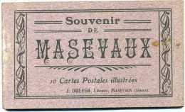 68 - Masevaux - Carnet   Complet 10 Cartes ( éditeur  J.  Dreyer ) - Masevaux