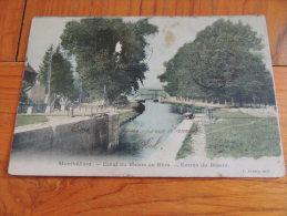 CPA / DOUBS/ MONTBELIARD/ CANAL DU RHONE AU RHIN - Montbéliard