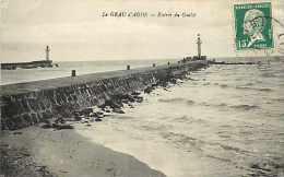 Hérault - Ref A 314 -le Grau D´agde -entrée Du Goulet -phares -thème Phares - Carte Bon état  - - Agde
