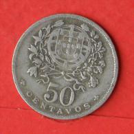 PORTUGAL  50  CENTAVOS  1935   KM# 577  -    (Nº02842) - Portugal