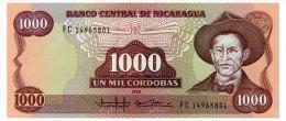 NICARAGUA 1000 CORDOBAS 1985 Pick 156 Unc - Nicaragua