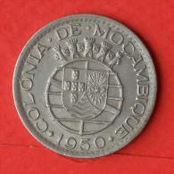MOZAMBIQUE  1  ESCUDOS  1950   KM# 77  -    (Nº02848) - Mozambique