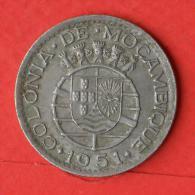 MOZAMBIQUE  1  ESCUDOS  1951   KM# 77  -    (Nº02849) - Mozambico
