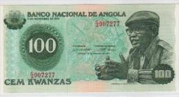 Nota 100 Kwanzas Neuf Angola Agosto 1979 - Angola