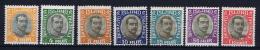 Iceland Dienstmarken  1920,  35 - 40  MH/* Incomplete Set (-20A) - Dienstpost