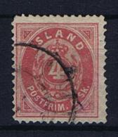 Iceland 1873, Mi 3 A Used  Cat Value Mi € 950 - 1873-1918 Deense Afhankelijkheid