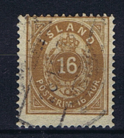 Iceland 1876 , Mi 9 A Used - 1873-1918 Deense Afhankelijkheid