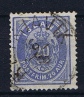 Iceland 1882 , Mi 14 A Used - 1873-1918 Deense Afhankelijkheid