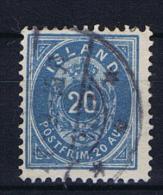 Iceland 1882 , Mi 14 B Used - 1873-1918 Deense Afhankelijkheid