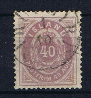 Iceland 1882 , Mi 15 A Used - 1873-1918 Deense Afhankelijkheid