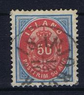 Iceland 1892 , Mi 16 A Used - 1873-1918 Deense Afhankelijkheid