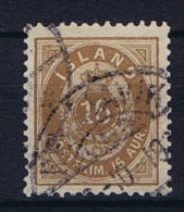Iceland 1876 , Mi 9 B Used - 1873-1918 Deense Afhankelijkheid