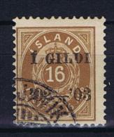 Iceland 1902 , Mi 29 B Used - 1873-1918 Deense Afhankelijkheid