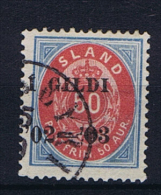 Iceland 1902 , Mi 33 A Used - 1873-1918 Deense Afhankelijkheid