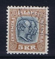 Iceland 1907 , Mi 62 Used - 1873-1918 Deense Afhankelijkheid