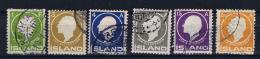 Iceland 1911 , Mi 63 - 68 Used - 1873-1918 Deense Afhankelijkheid