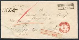 Germany Alter Paketbegleitbrief Mit R2- Stempel Charlottenburg Gelaufen - Germany