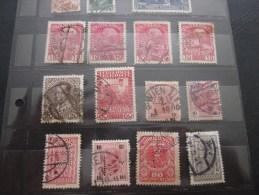 12 > Timbre Stamp >> Autriche Osterreich Austria Osterreichische - Post >> Perforé Perforés Perfin Perfins - Österreich