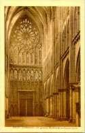 Metz - Cathedrale - La Grande Fenêtre De La Façade Ouest - Metz