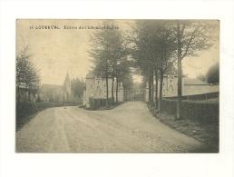 Loverval : Entrée Du Château Et église - Gerpinnes