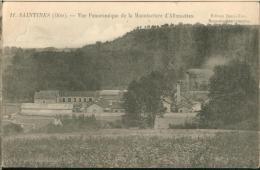 Saintines - Vue Panoramique De La Fabrique D'allumettes - Otros Municipios