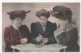 CPA Fantaisie - Femme - Jeu De Cartes  (H. Manuel) - N° 2 - Femmes