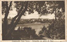 Italy, Castiglioncello, Portovecchio Con Veduta Dei Bagni. Ediz. Lucchesi Raffaelio E Figli. Tabaccheria N. 3. - Italia