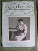 Revue Culina  1910 N° 17 Raphaël Kirchner Recettes Cuisine Mode Publicités - Gastronomia