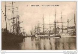 OOSTENDE ..-- Bassins Trois - Mâts . 1905 Vers SUGNY ( Melle A . Grégoire ) . Voir Verso . - Oostende