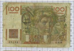 100 Francs Jeune Paysan, Ref Fayette 28-30, état TB+ - 1871-1952 Anciens Francs Circulés Au XXème