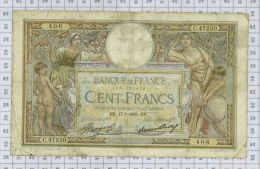 "100 Francs Luc Olivier Merson ""Grands Cartouches"", Ref Fayette 24-13, état SUP - 100 F 1908-1939 ''Luc Olivier Merson''"