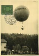 Triberg :  Luchtballon - Balloon - Ballon L'air   -   Format  14.5  X  10  Cm   ( 2  Scans )  Real EUROPA Stamp - Aviation