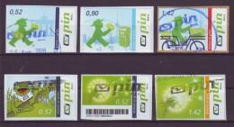 BRD - Privatpost - Pin Mail Berlin - Schick Es Grün - Gestempelt - [7] Federal Republic