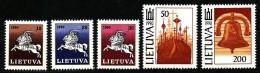 LITAUEN -  Mi.Nr.  465 - 469    Postfrisch - Litauen