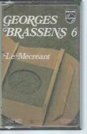 """K7 Audio - GEORGES BRASSENS  """" LE MECREANT  """" 14 TITRES - Cassettes Audio"""