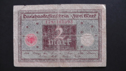 Germany - 2 Mark Darlehenskassenschein - 1920 - P 60 - F+ - As Scan - [ 3] 1918-1933 : República De Weimar
