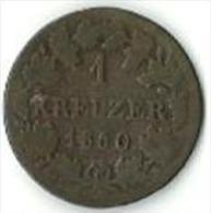 Bayern - Bavière / Maximilian II - 1 Kreuzer 1850 - Piccole Monete & Altre Suddivisioni