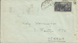 R.I.009-Lettera Con 15 Lire Risorgimento 28.10.1948 - Bella - 6. 1946-.. Repubblica