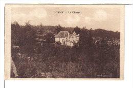 CAMY (46) - CPA -le Château - France
