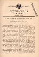 Original Patentschrift - A. Hohlbaum & Co In Jägerndorf / Krnov , 1899 , Schaftmaschine Für Weberei , Schlesien !!! - Maschinen