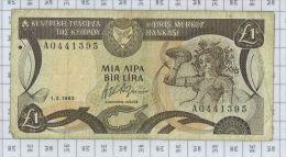Central Bank Of Cyprus, état TB-TTB - Cyprus