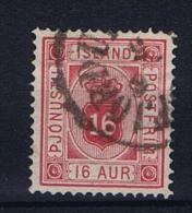 Iceland 1876 Dienst  , Mi 6 A  Used - Dienstzegels