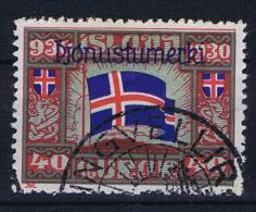 Iceland 1930 Dienst  , Mi 53   Used - Servizio