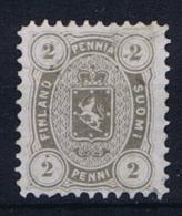 Finland: 1875 Mi 12 A MH/*