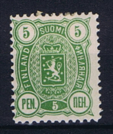 Finland: 1889 Mi 28 A MH/*