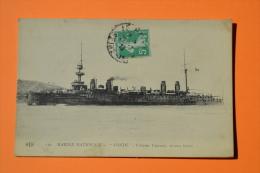 Marine Nationale - 1913 - Condé, Croiseur Cuirassé 10014 Tonnes - ELD 136 - Navire De Guerre - Guerre