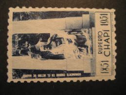 Ruperto CHAPI 1951 Italy Italie Italia Music Poster Stamp Label Vignette Viñeta Cinderella - Music